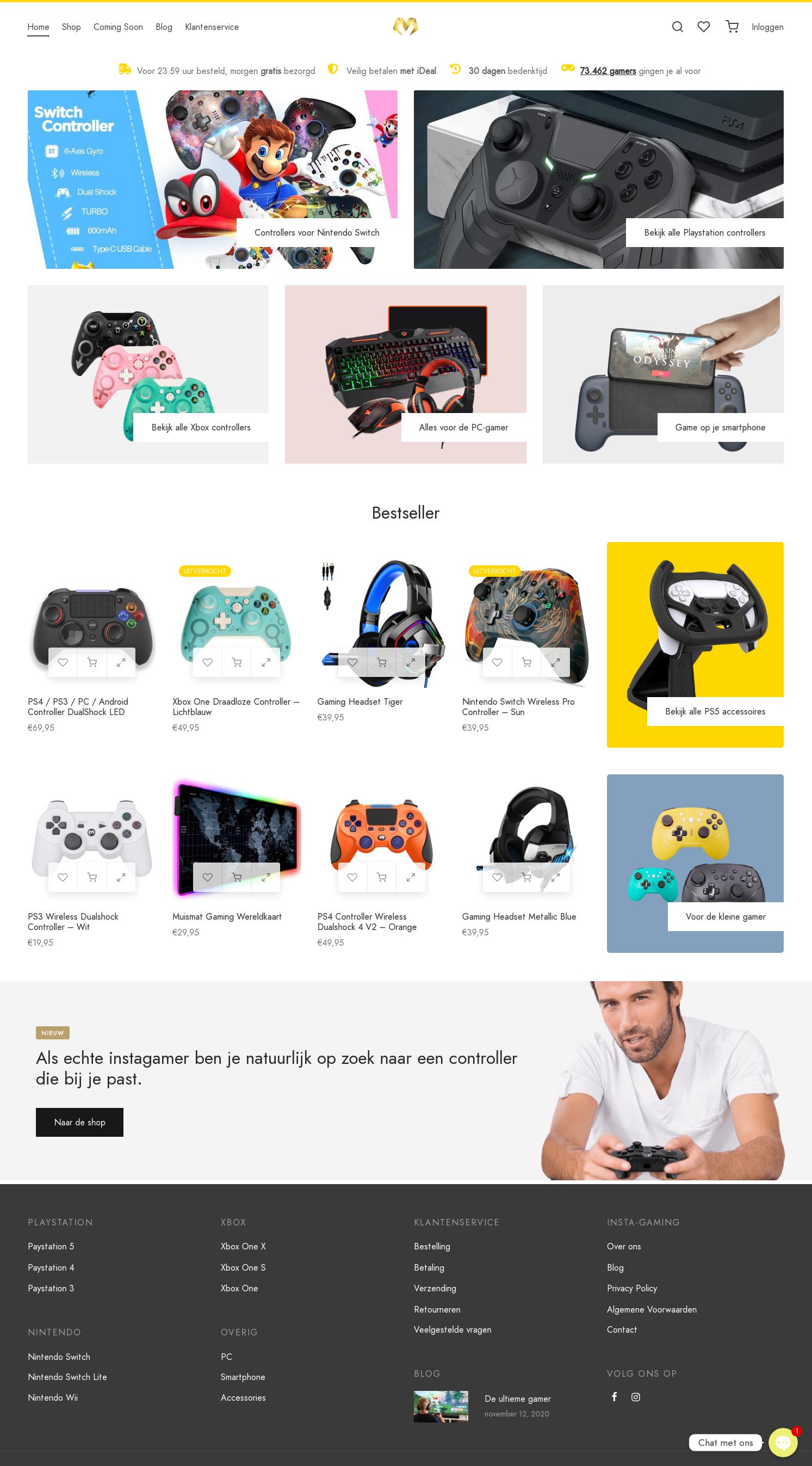 Insta-Gaming